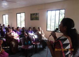 MS.Tany Thomas, District Mission Co-ordinator, Kudumbashree at DDU GKY Campus